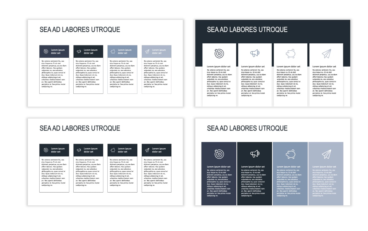 ROME - Gray - Business - Professional - Aesthetic - Clean - Minimal Slide 12