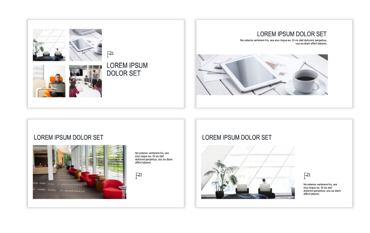 ROME - Gray - Business - Professional - Aesthetic - Clean - Minimal Slide 6