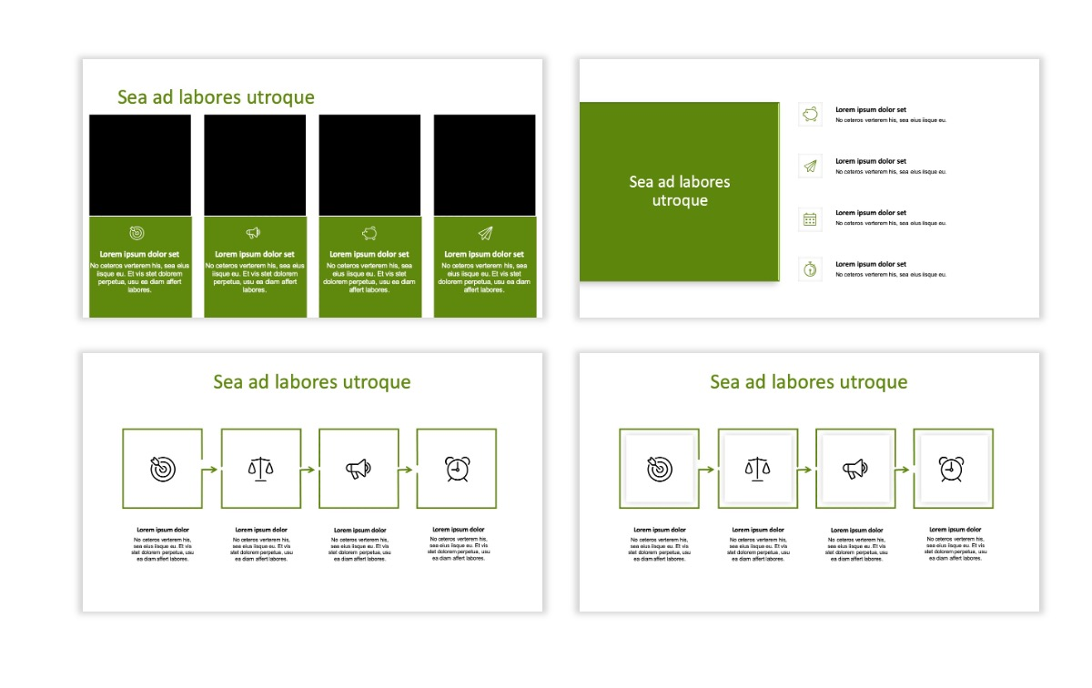 ROME - Green - Aesthetic - Clean - Minimal Slide 14