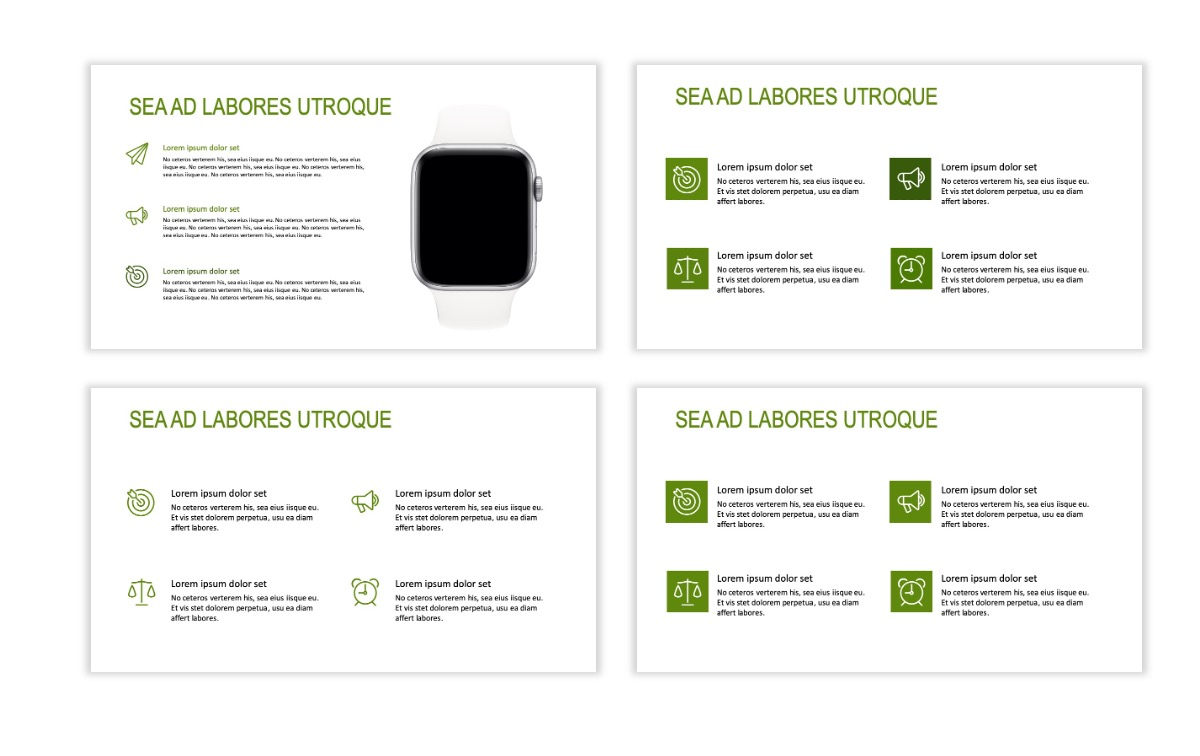 ROME - Green - Business - Professional - Aesthetic - Clean - Minimal Slide 10