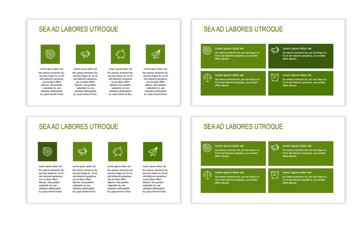 ROME - Green - Business - Professional - Aesthetic - Clean - Minimal Slide 11