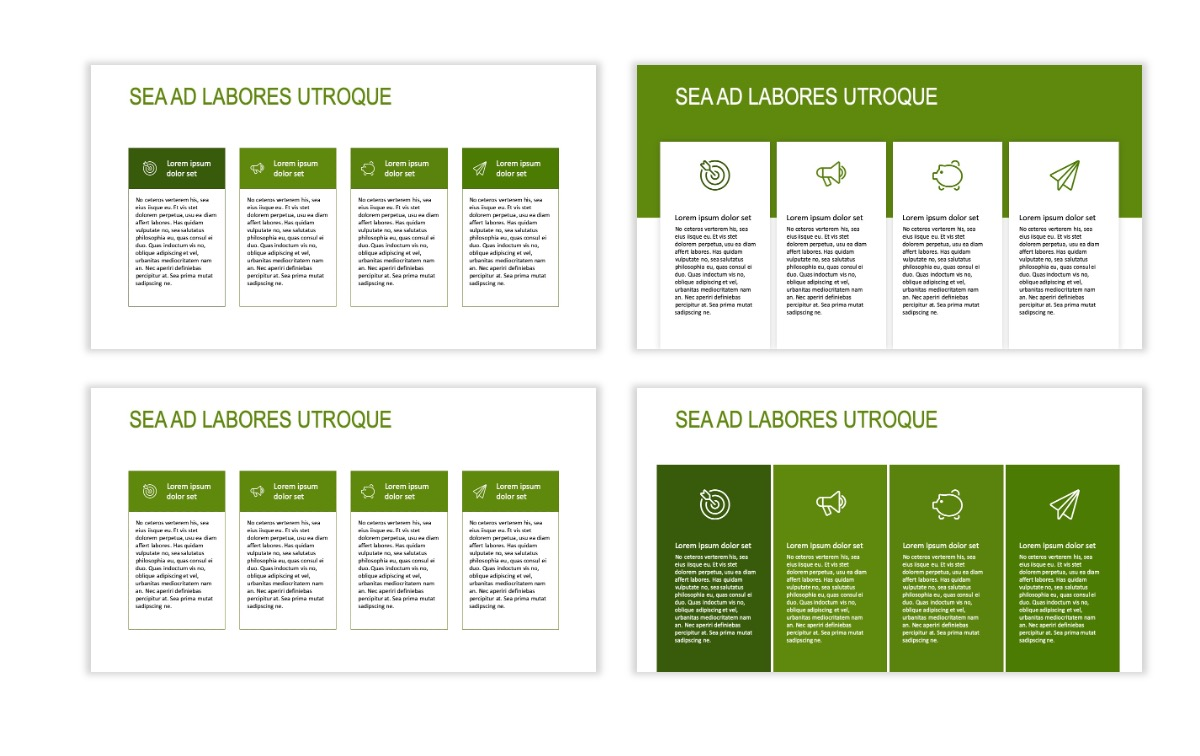 ROME - Green - Business - Professional - Aesthetic - Clean - Minimal Slide 12