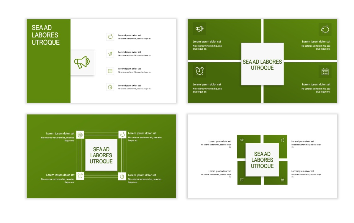 ROME - Green - Business - Professional - Aesthetic - Clean - Minimal Slide 15
