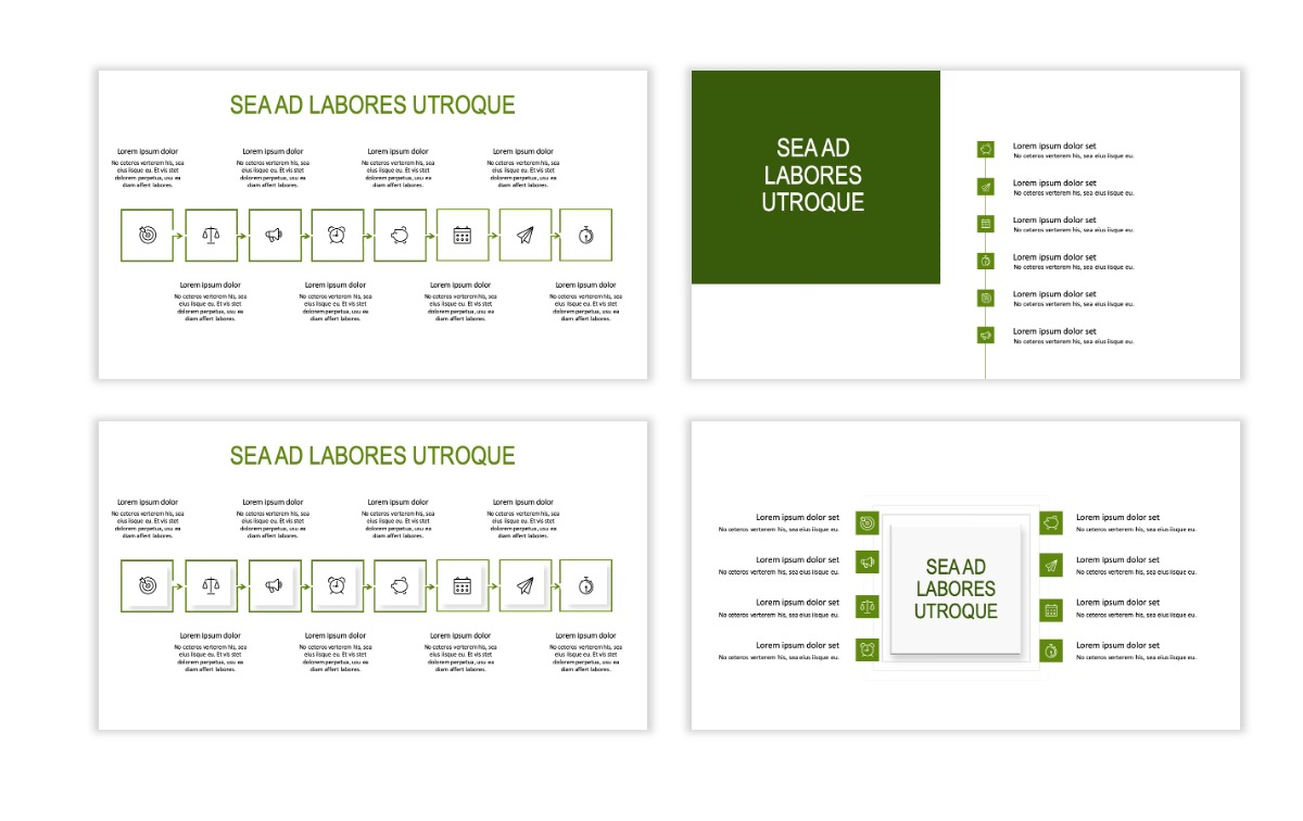 ROME - Green - Business - Professional - Aesthetic - Clean - Minimal Slide 19