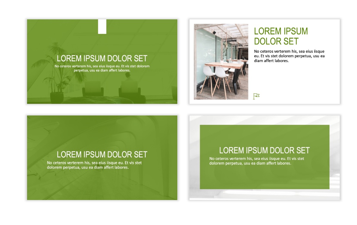 ROME - Green - Business - Professional - Aesthetic - Clean - Minimal Slide 2