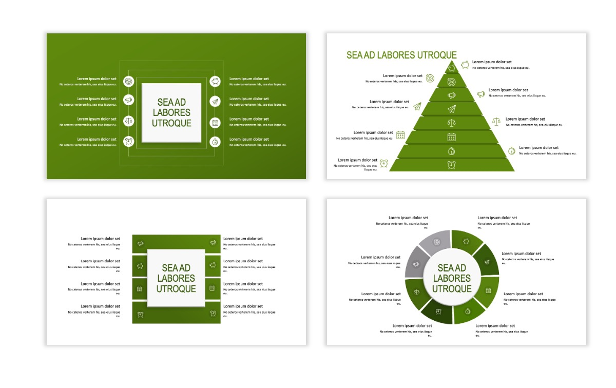 ROME - Green - Business - Professional - Aesthetic - Clean - Minimal Slide 20