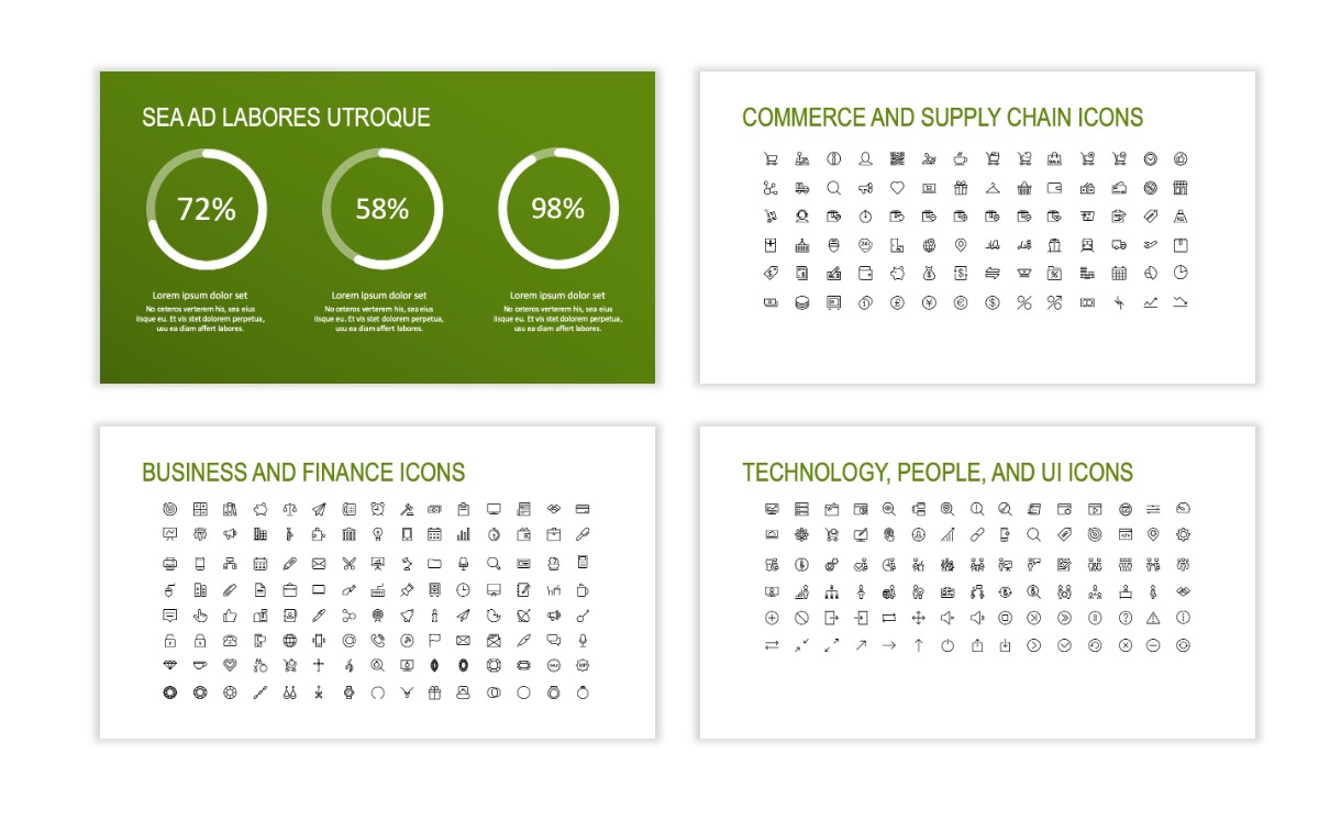 ROME - Green - Business - Professional - Aesthetic - Clean - Minimal Slide 25