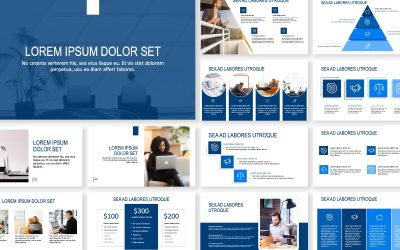 ROME BUSINESS NAVY FREE POWERPOINT TEMPLATE