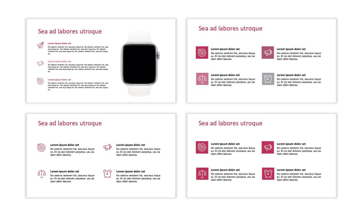 ROME - Pink - Aesthetic - Clean - Minimal Slide 10