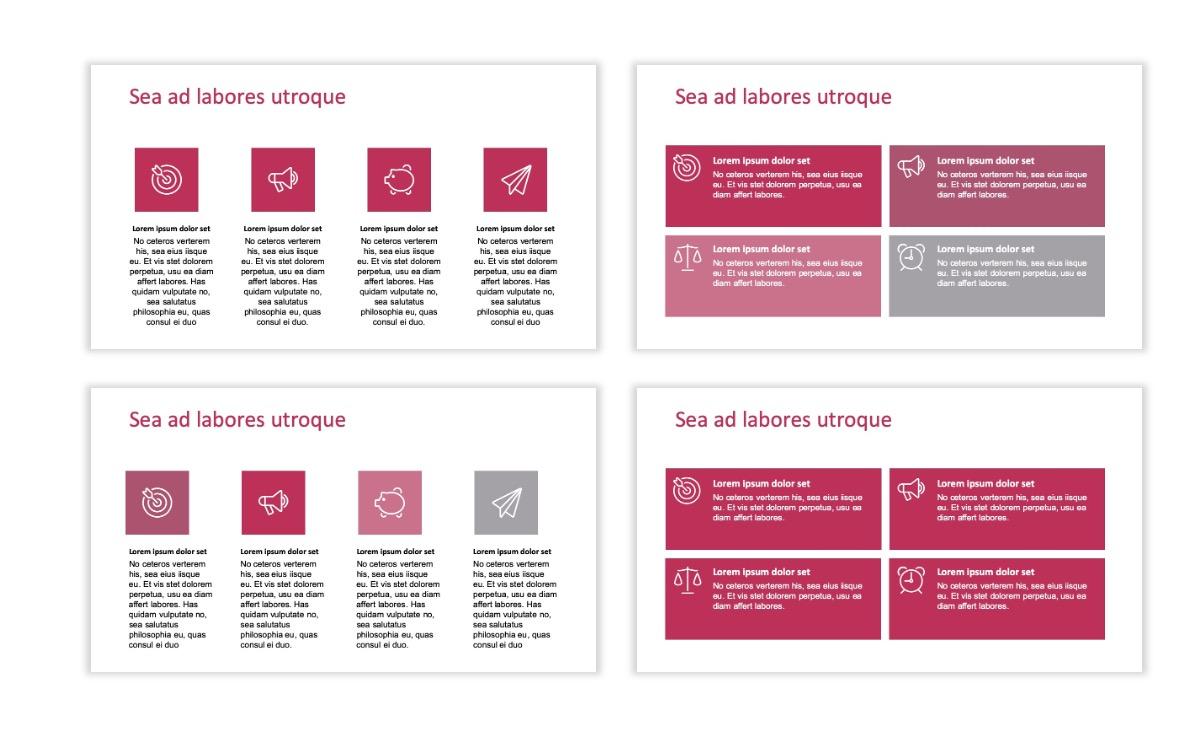 ROME - Pink - Aesthetic - Clean - Minimal Slide 11