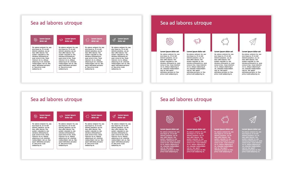 ROME - Pink - Aesthetic - Clean - Minimal Slide 12