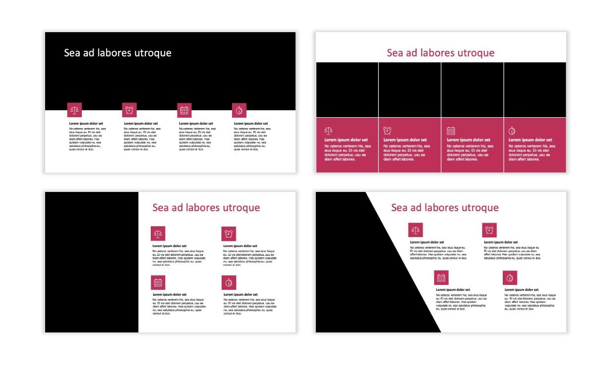 ROME - Pink - Aesthetic - Clean - Minimal Slide 13