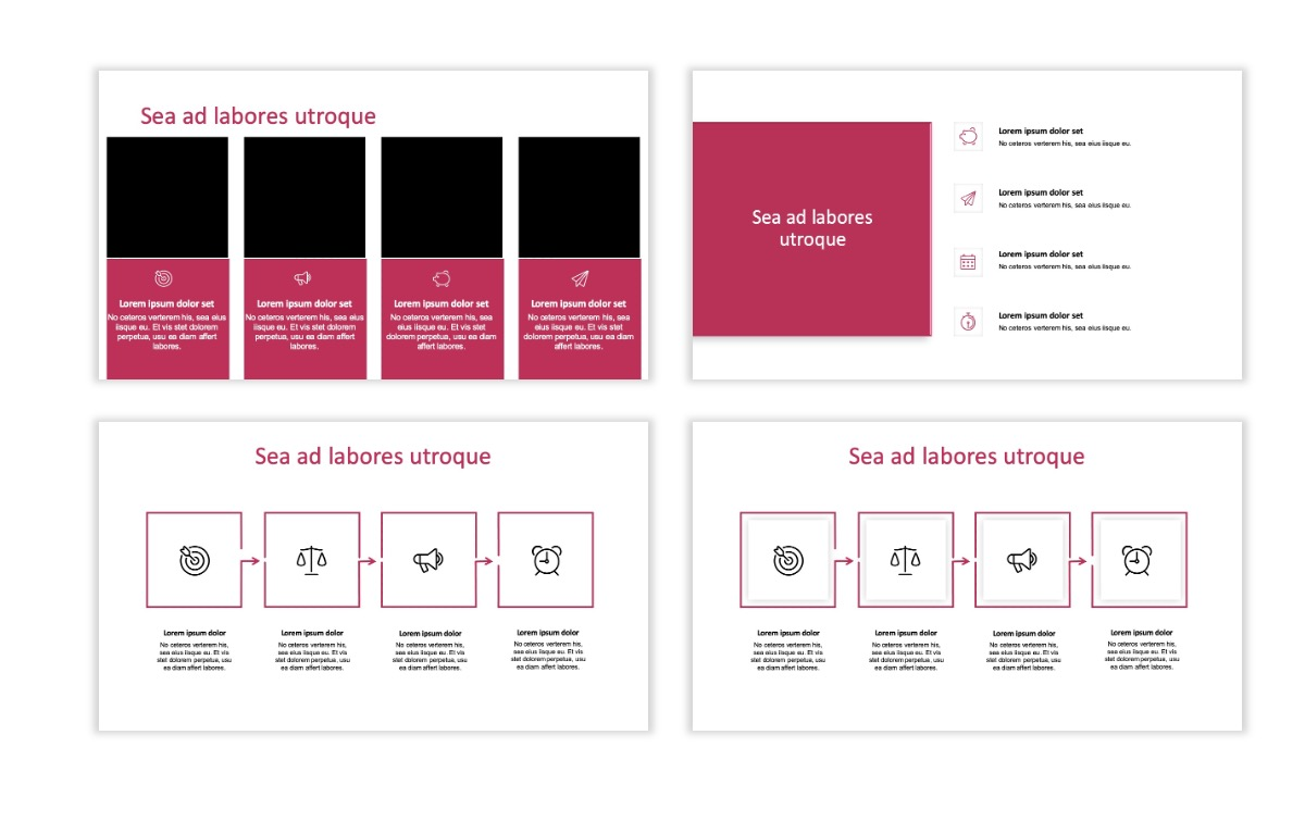 ROME - Pink - Aesthetic - Clean - Minimal Slide 14
