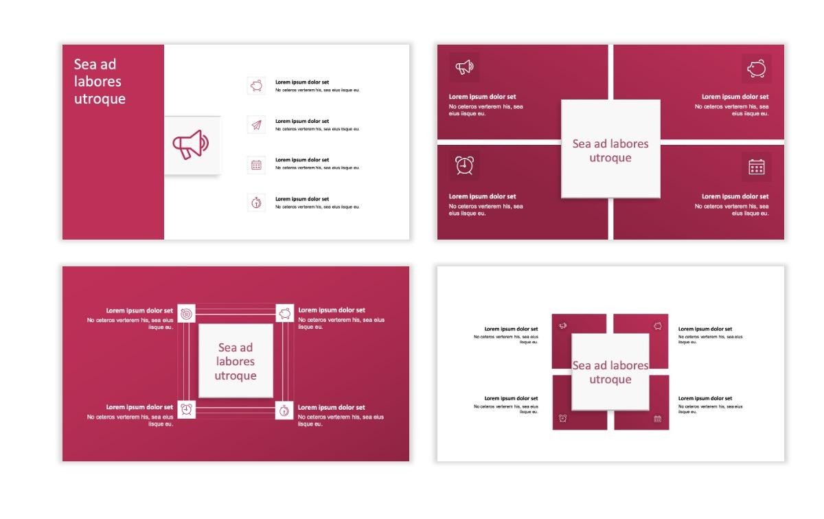ROME - Pink - Aesthetic - Clean - Minimal Slide 15