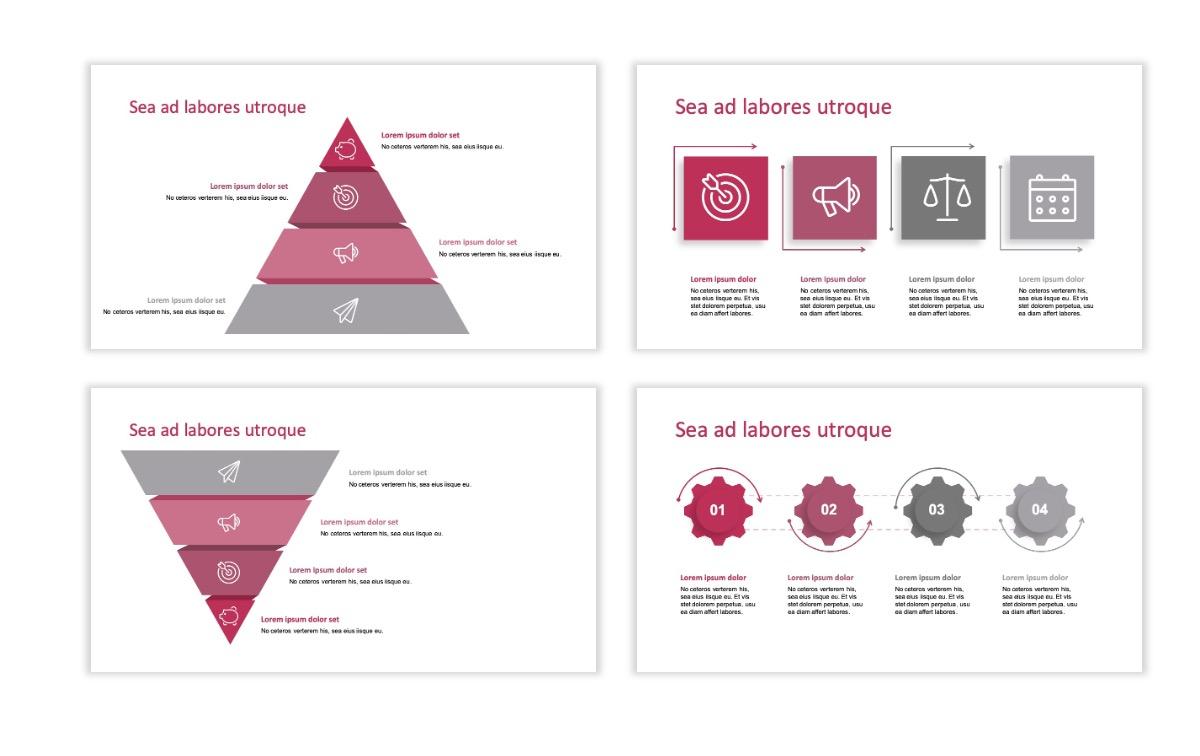 ROME - Pink - Aesthetic - Clean - Minimal Slide 16