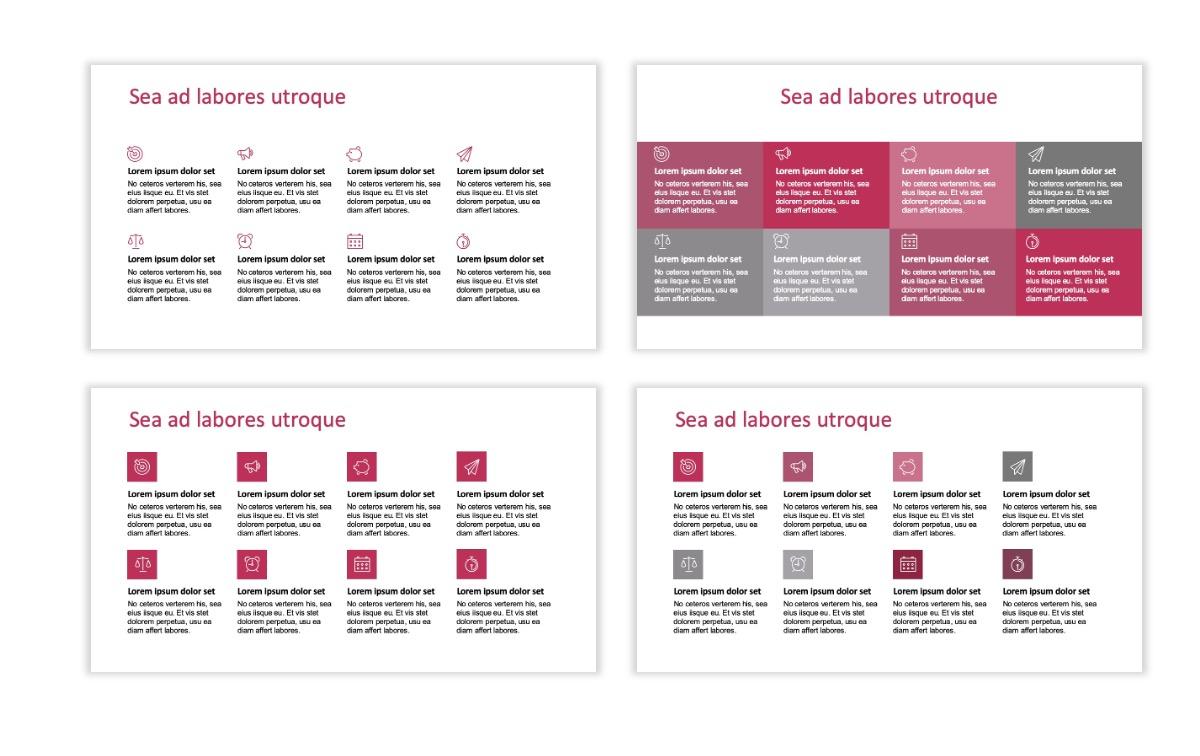 ROME - Pink - Aesthetic - Clean - Minimal Slide 17