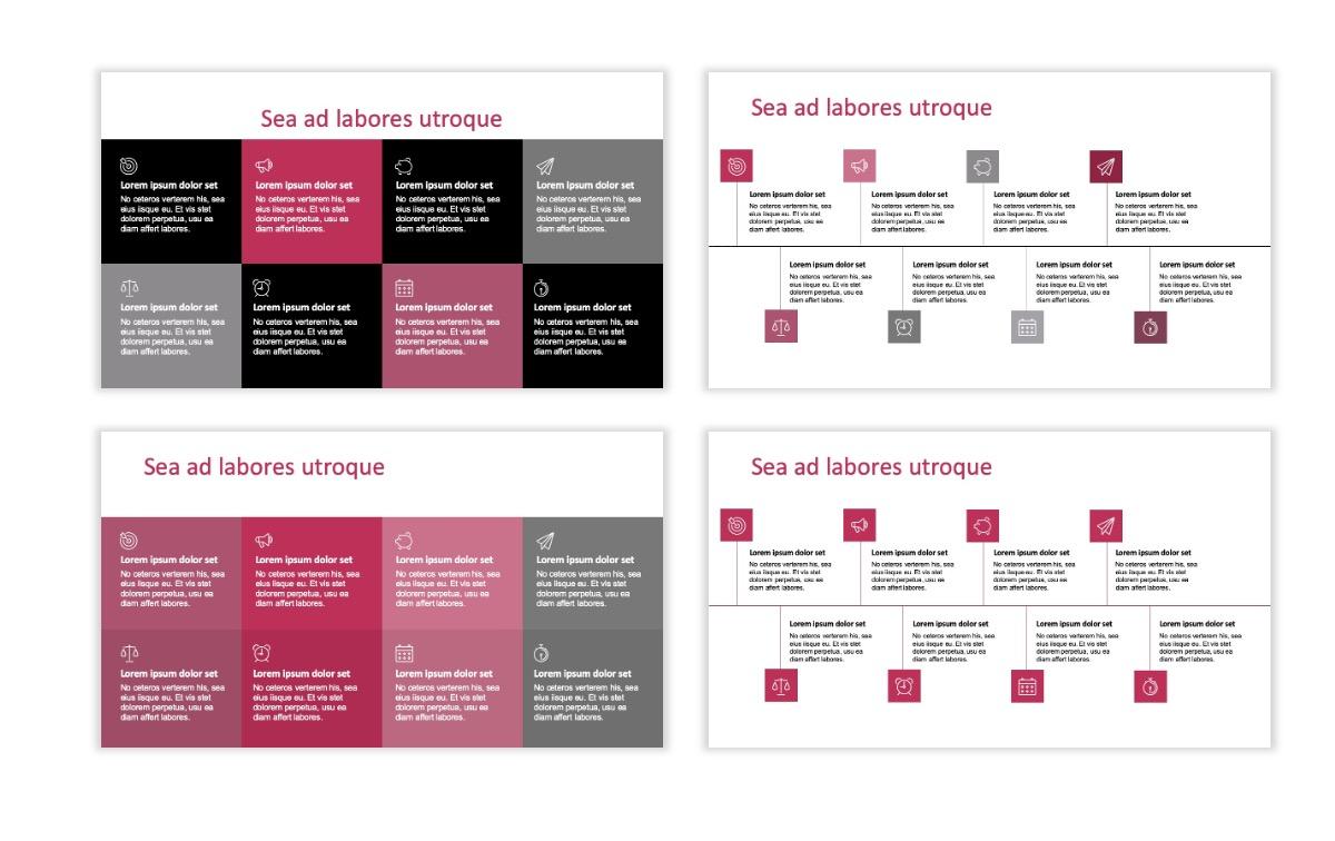 ROME - Pink - Aesthetic - Clean - Minimal Slide 18