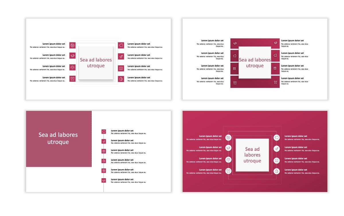ROME - Pink - Aesthetic - Clean - Minimal Slide 20