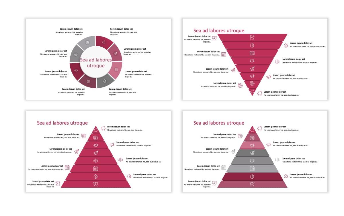 ROME - Pink - Aesthetic - Clean - Minimal Slide 21