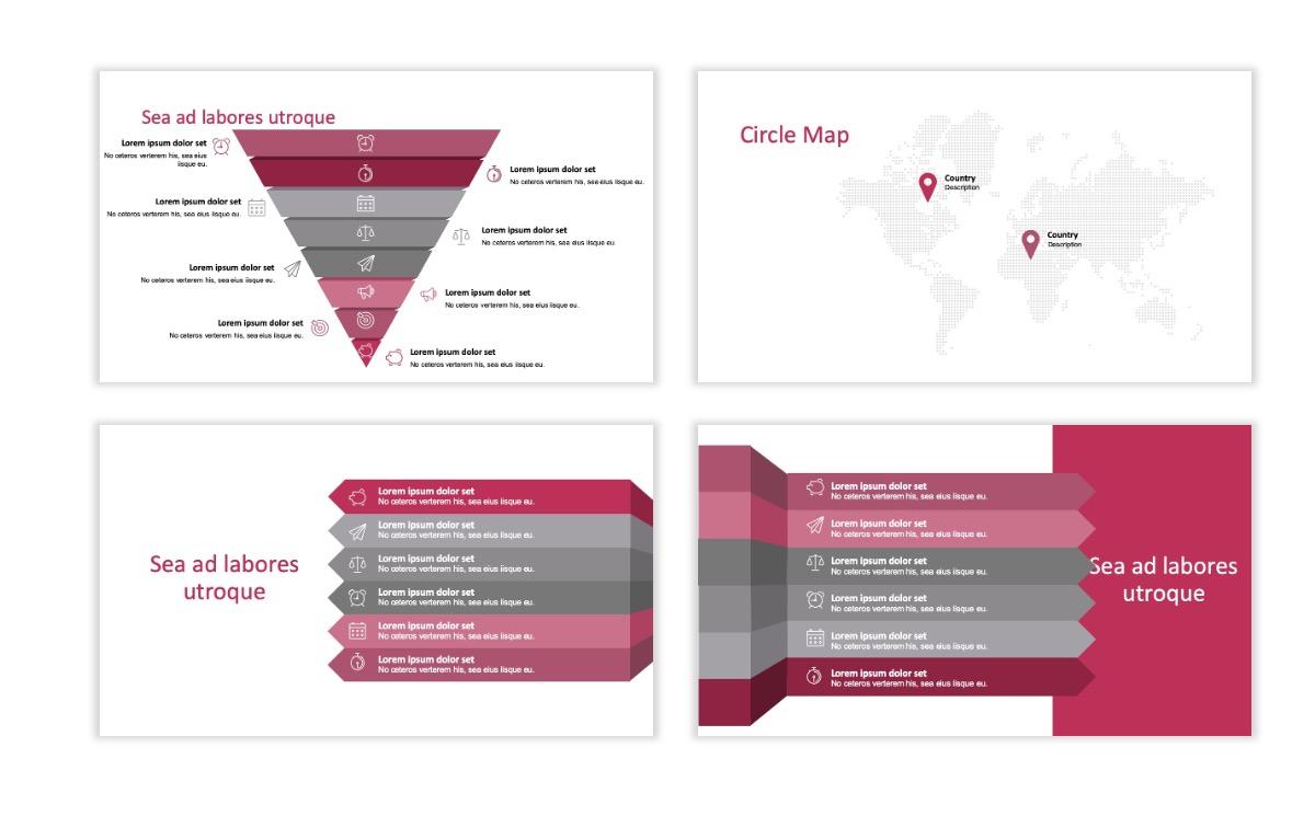 ROME - Pink - Aesthetic - Clean - Minimal Slide 22