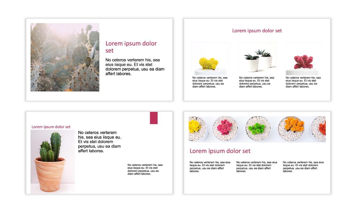 ROME - Pink - Aesthetic - Clean - Minimal Slide 3