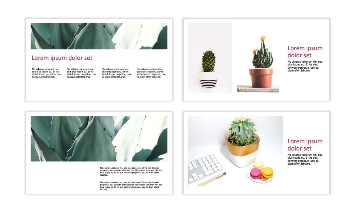 ROME - Pink - Aesthetic - Clean - Minimal Slide 4