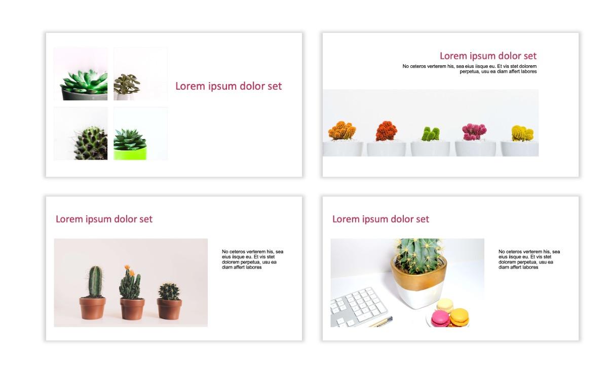 ROME - Pink - Aesthetic - Clean - Minimal Slide 6