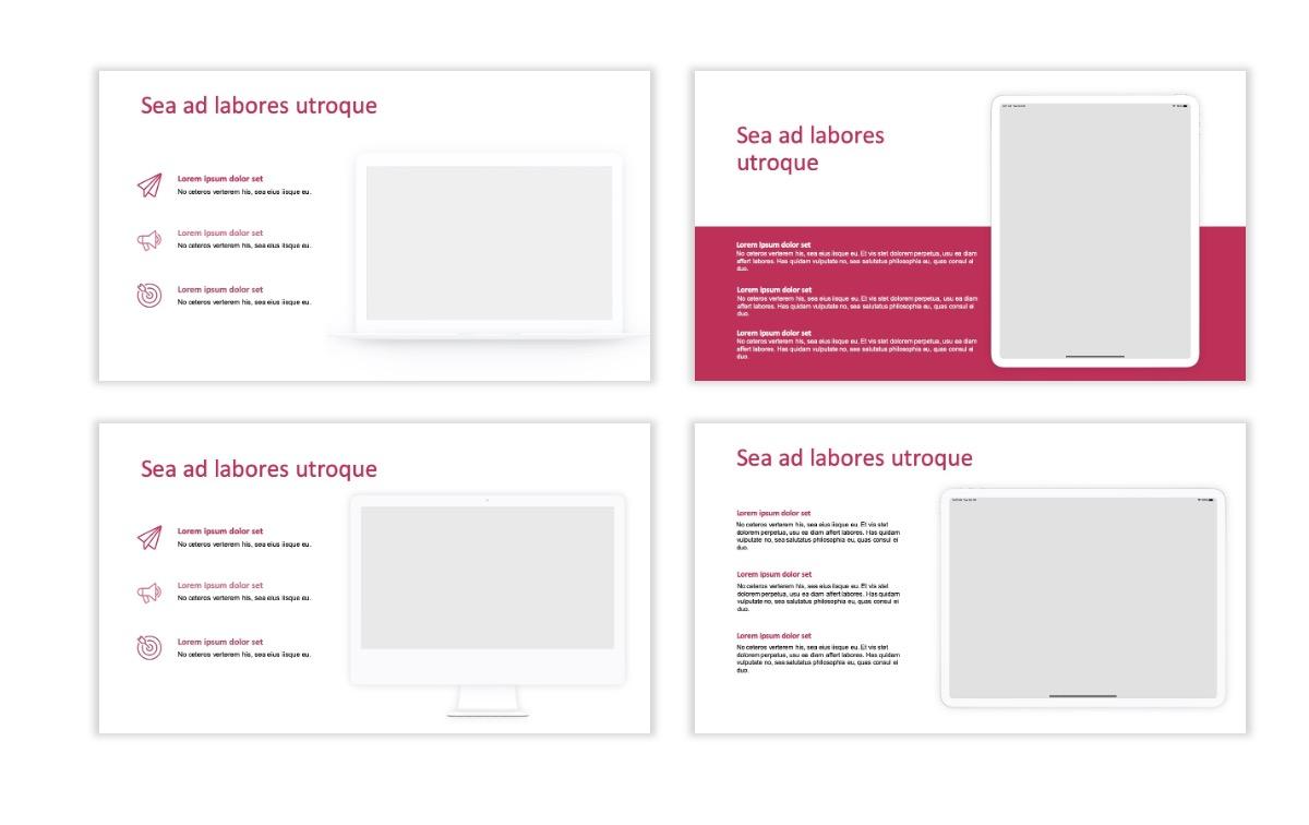 ROME - Pink - Aesthetic - Clean - Minimal Slide 9