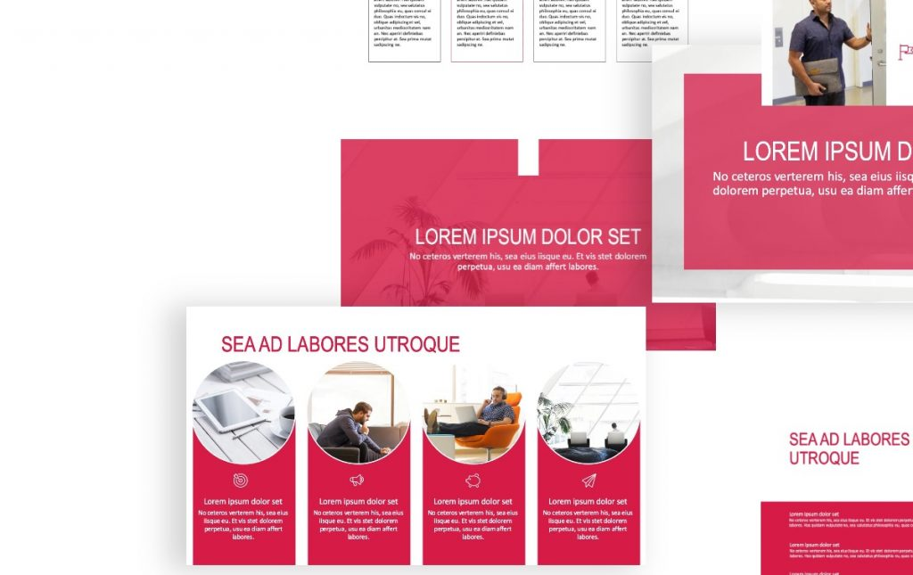 ROME PROFESSIONAL RED FREE POWERPOINT TEMPLATE