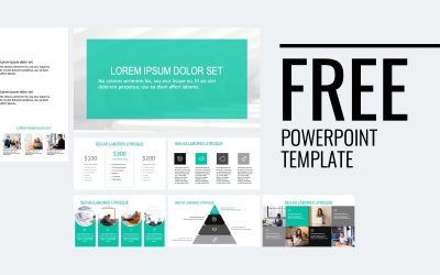 ROME PROFESSIONAL TEAL FREE POWERPOINT TEMPLATE
