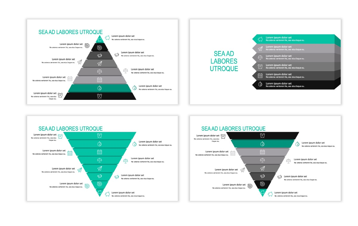 ROME - Teal - Business - Professional - Aesthetic - Clean - Minimal Slide 21