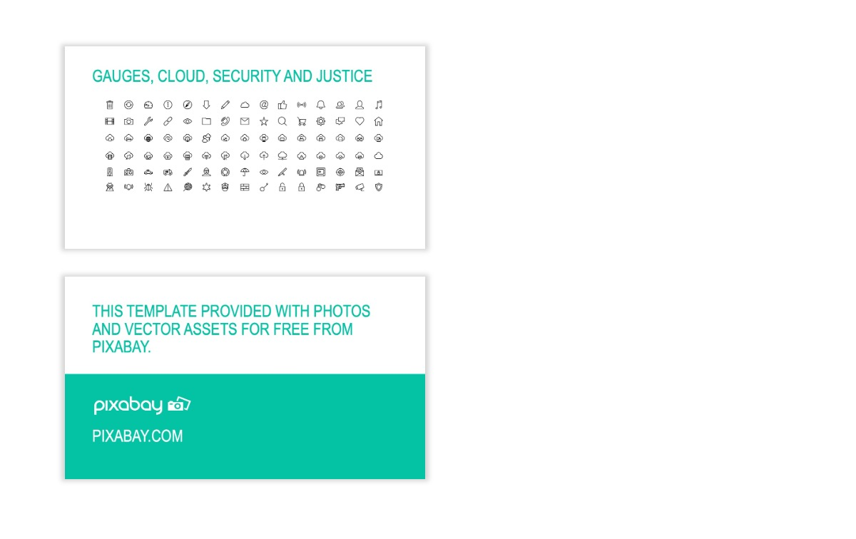 ROME - Teal - Business - Professional - Aesthetic - Clean - Minimal Slide 27