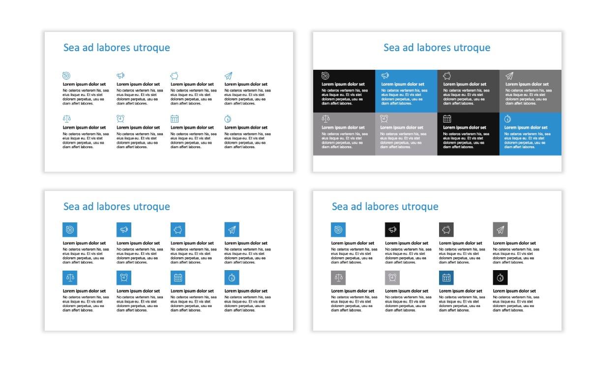 ROME - Travel - Blue - Aesthetic - Clean - Minimal Slide 17