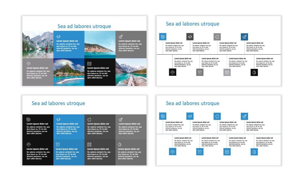 ROME - Travel - Blue - Aesthetic - Clean - Minimal Slide 18