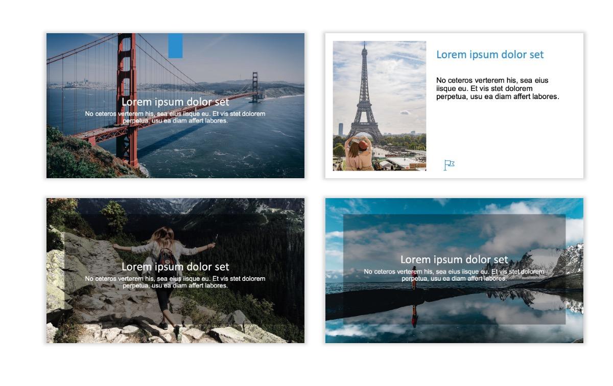 ROME - Travel - Blue - Aesthetic - Clean - Minimal Slide 2