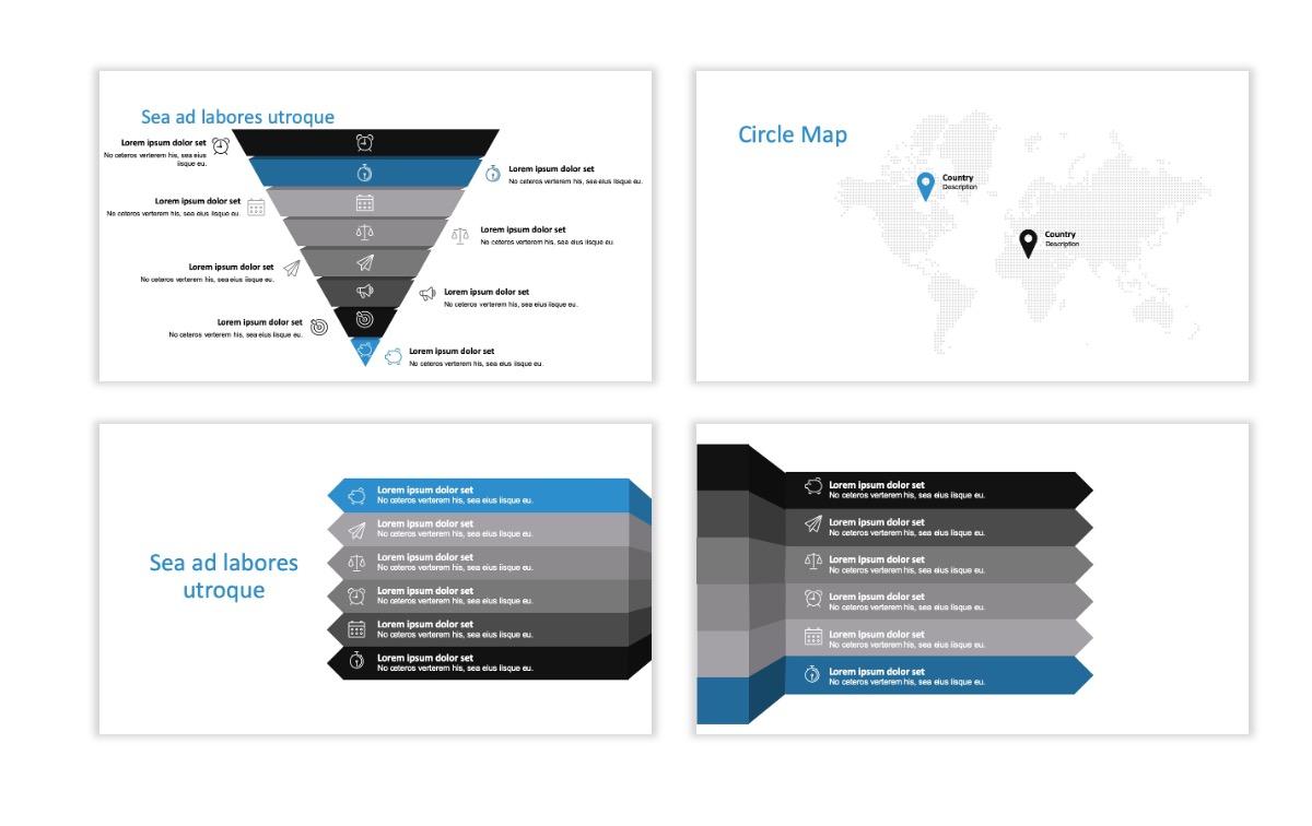 ROME - Travel - Blue - Aesthetic - Clean - Minimal Slide 22