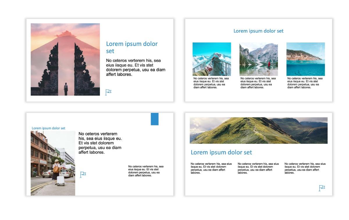 ROME - Travel - Blue - Aesthetic - Clean - Minimal Slide 3