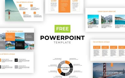 ROME TRAVEL ORANGE FREE POWERPOINT TEMPLATE