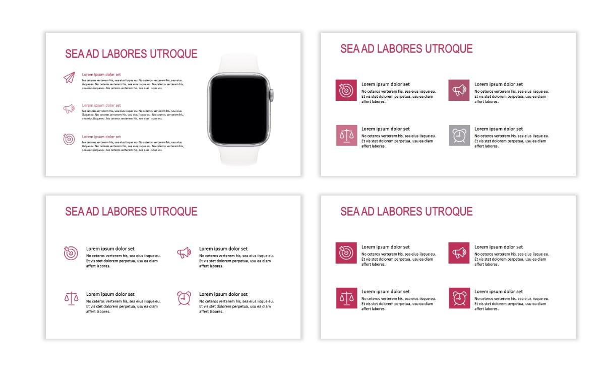 ROME - Travel - Pink - Aesthetic - Clean - Minimal Slide 10