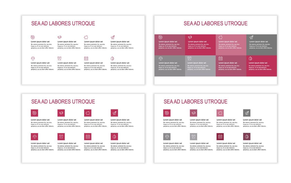 ROME - Travel - Pink - Aesthetic - Clean - Minimal Slide 17