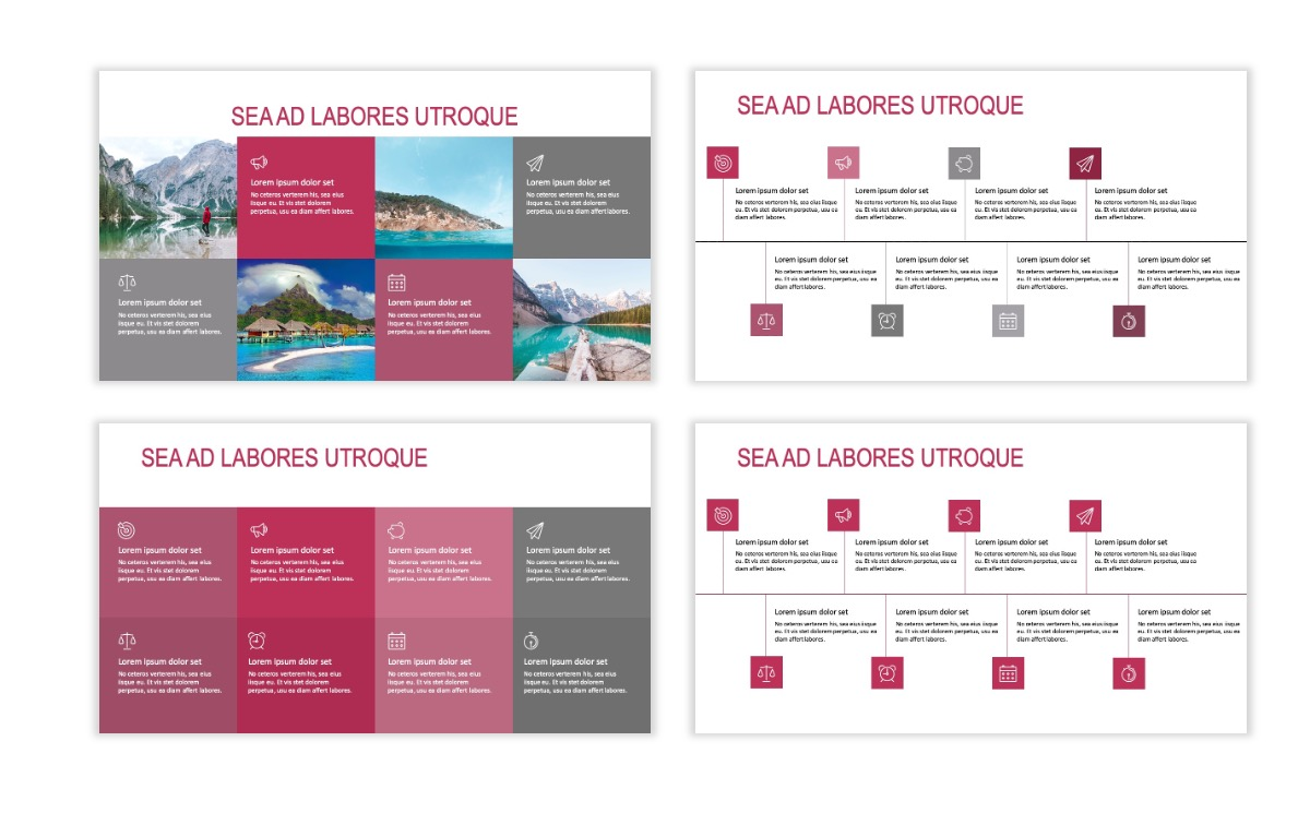 ROME - Travel - Pink - Aesthetic - Clean - Minimal Slide 18