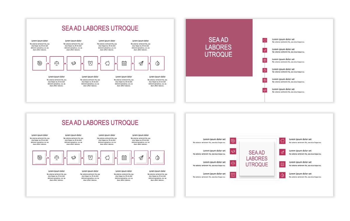 ROME - Travel - Pink - Aesthetic - Clean - Minimal Slide 19