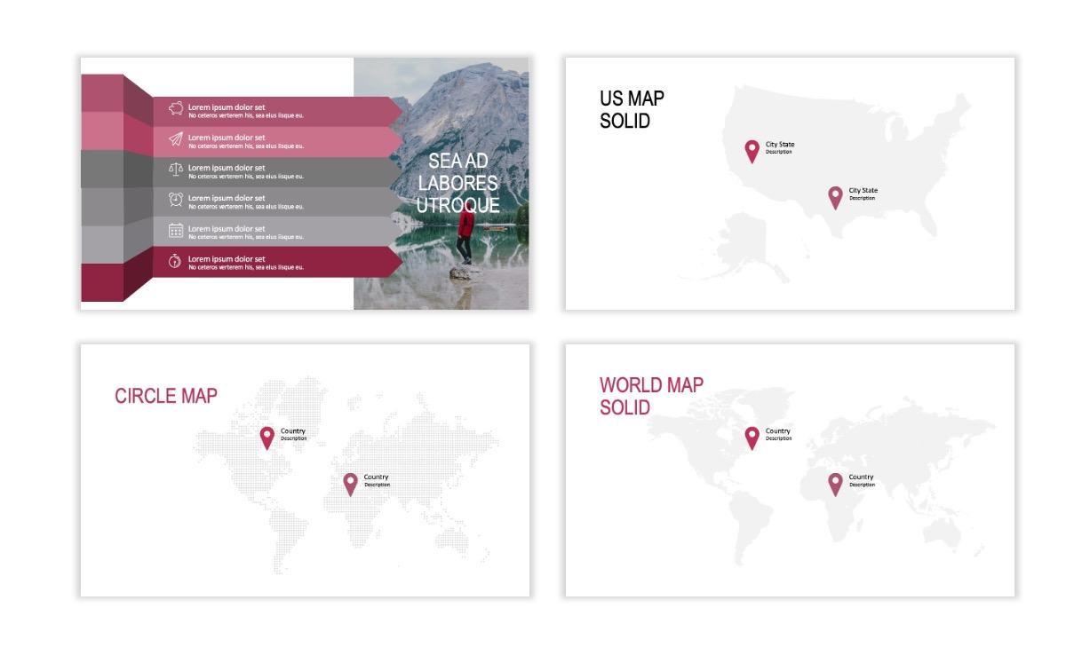 ROME - Travel - Pink - Aesthetic - Clean - Minimal Slide 22