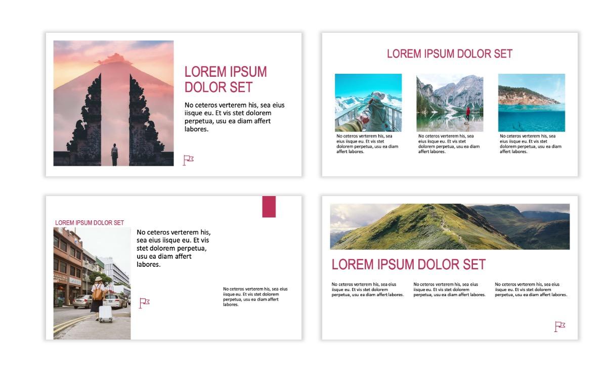 ROME - Travel - Pink - Aesthetic - Clean - Minimal Slide 3