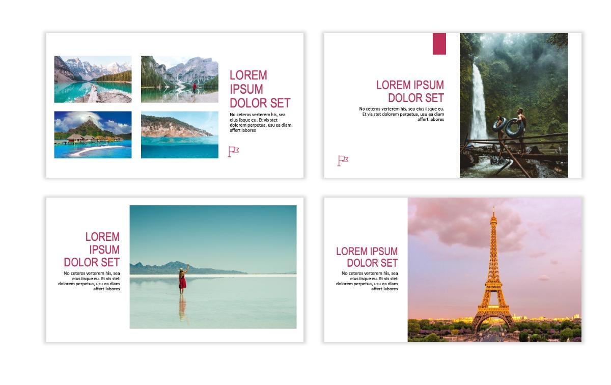 ROME - Travel - Pink - Aesthetic - Clean - Minimal Slide 5
