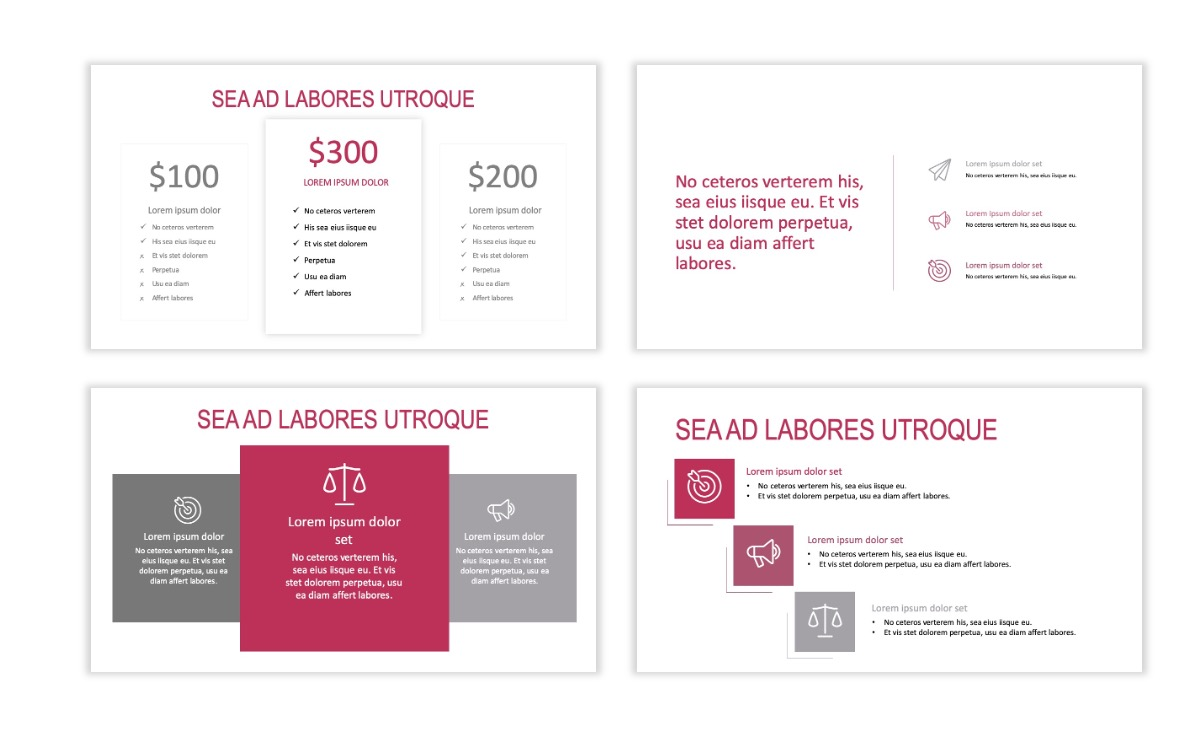 ROME - Travel - Pink - Aesthetic - Clean - Minimal Slide 8