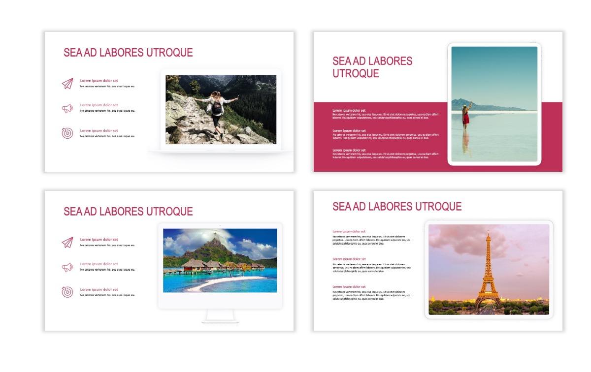 ROME - Travel - Pink - Aesthetic - Clean - Minimal Slide 9