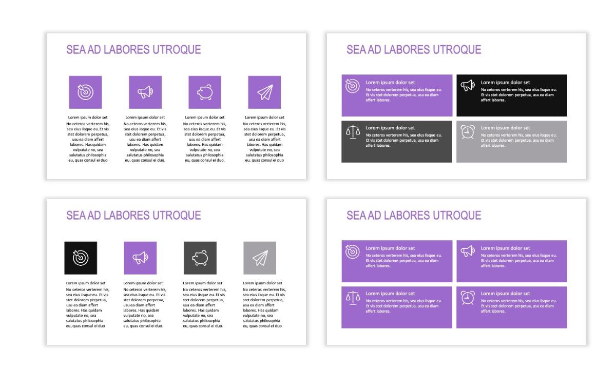 ROME - Travel - Purple - Aesthetic - Clean - Minimal Slide 11