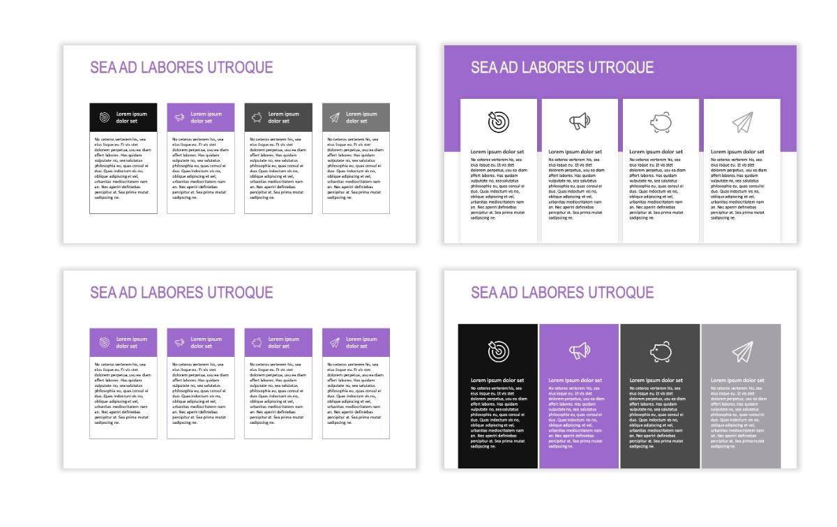 ROME - Travel - Purple - Aesthetic - Clean - Minimal Slide 12