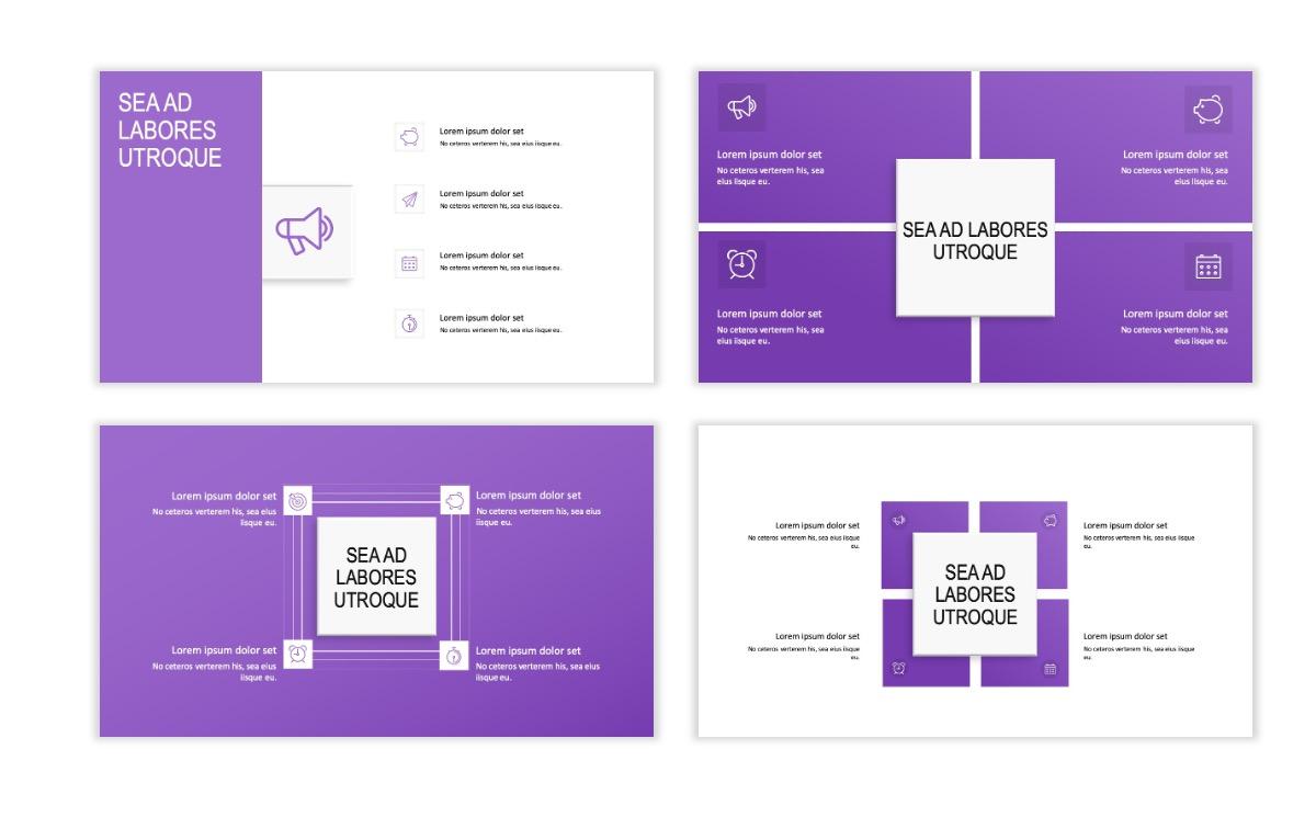 ROME - Travel - Purple - Aesthetic - Clean - Minimal Slide 15
